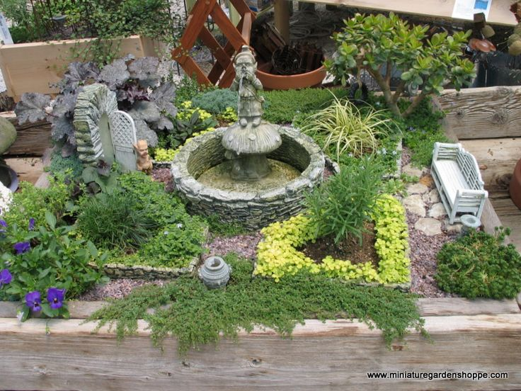 Looking For Ideas On How To Make Your Perfect Miniature Garden. We Have  Included A