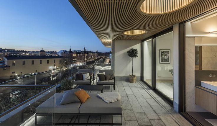 Penthouse på Banérgatan 10, Stockholm | Fotograf: Henrik Nero #penthouse #banergatan #östermalm #stockholm #vindsvåning #henriknero