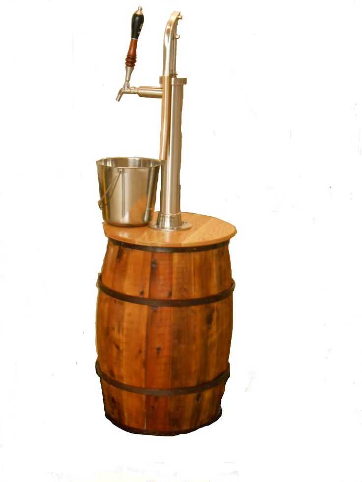 The Bison Beverage Pump! Hooked into your favorite keg!