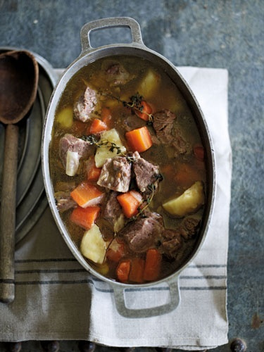James Martin's recipe for Irish Stew from his book, Slow Cooking - a real winter warmer!    Photography by Tara Fisher