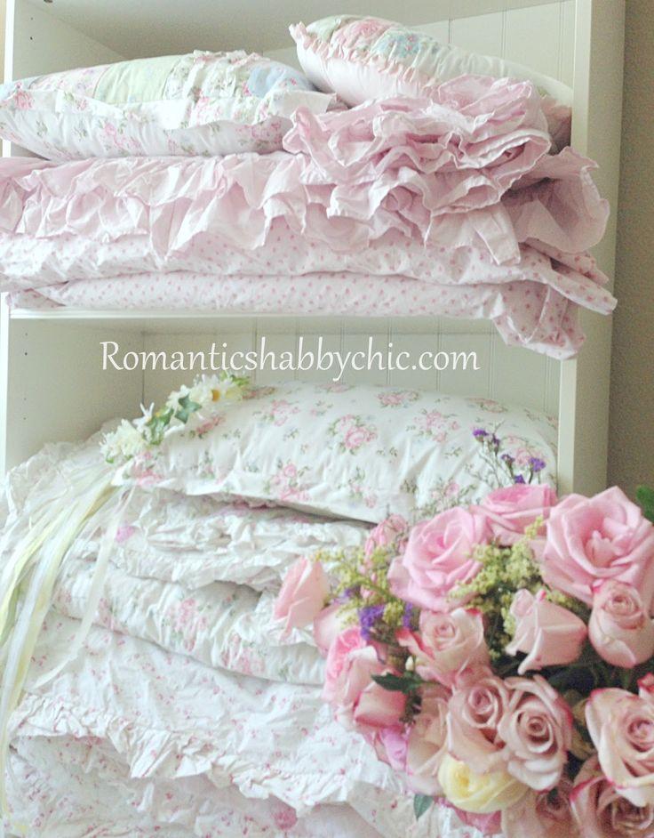 Romanticshabbychic.com Shabby Chic Blog Cottage Evim Kır Evi Dekorasyonu  Çiçekli Elbiseler Çiçekli Yatak örtüleri