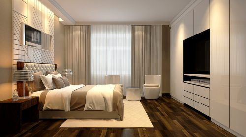 Picture of Modern Bedroom Design in High Resolution