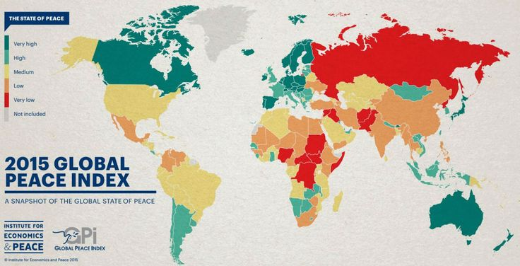 Which is the most peaceful country in the world? - Al Arabiya News