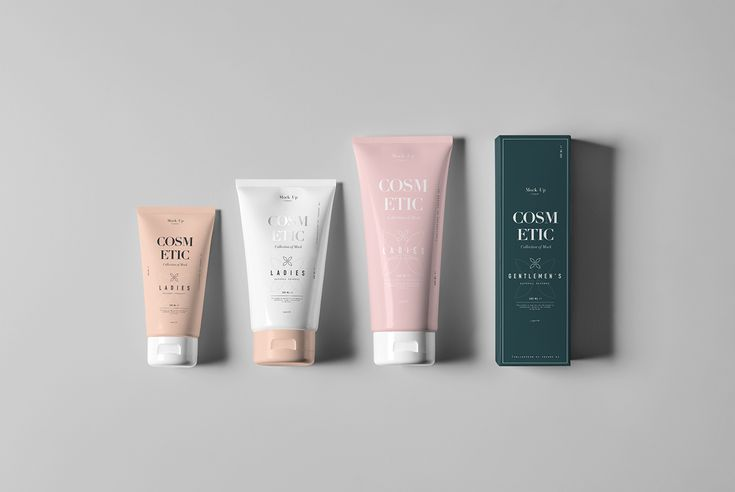 Cosmetic Tube & Box Mock-up on Behance