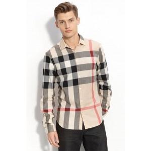 Burberry Check Woven Cheap Burberry Shirt 31780181