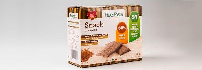 Lo #snack al #cacao #FiberPasta ha un basso indice glicemico (IG 31), un alto contenuto di fibra (30%), e un ridotto apporto calorico, ideale per rimanere leggeri e in forma. #fitness #alimentazione #mangiaresano #nutrizione #alimentazionesana #dietasana #benessere #salute #dimagrimento #dieta #sport #diabete #colesterolo