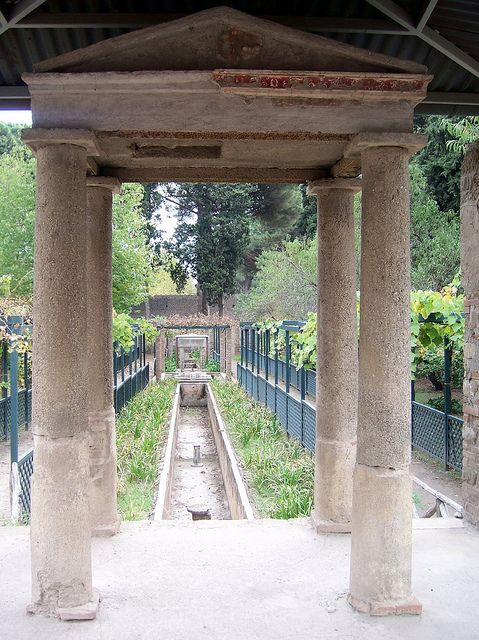 House of Octavius Quartio, Pompeii. *Some really great photographs .....click on in