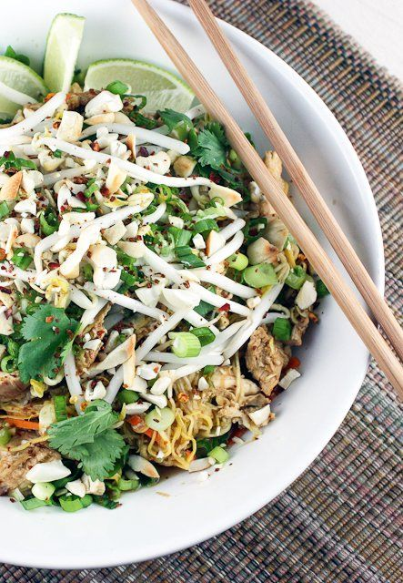 Paleo Pad Thai / Against All Grain | Against All Grain - Delectable paleo recipes to eat & feel great