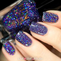Swatch of Fun Lacquer Galaxy Nail Polish
