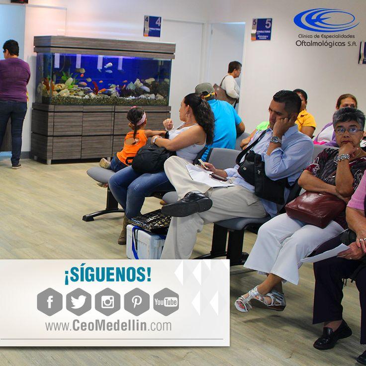 Infórmate de todas nuestras novedades y servicios siguiéndonos en nuestras redes sociales #ClinicaCEO www.ceomedellin.com