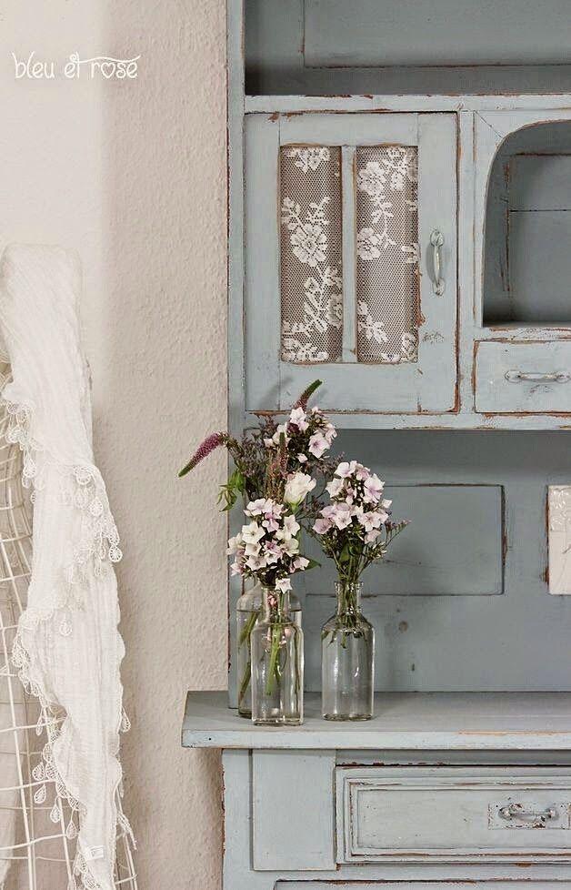 Mueble pintado decapado. Almacén de Inspiraciones: Paseo del 5-11-14