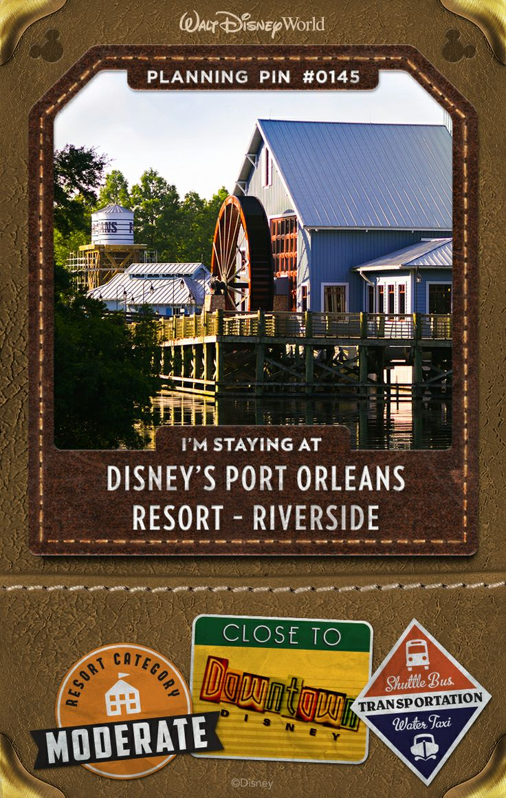 Walt Disney World Planning Pins: Discover a place where simple pleasures flourish and Southern hospitality abounds. From the stately white-column mansions of Magnolia Bend to the quaint backwoods cottages of Alligator Bayou, delight in this picturesque Resort hotel that evokes the romance and tranquility of the rural Louisiana Bayou.