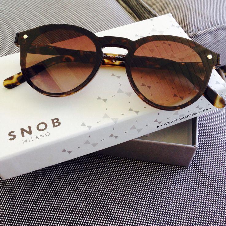 My Snob sunglasses