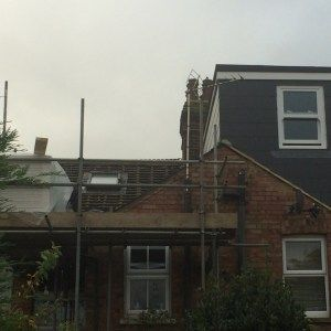 L-Shaped Dormer Loft  Conversion In Codicote Stevenage