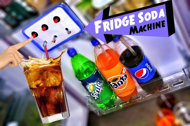 Make Coca Cola Soda Fountain Dispenser Machine at Your Home Fridge ! by Kedar Nimbalkar   >>>   The family would be at the fridge ALL the time!