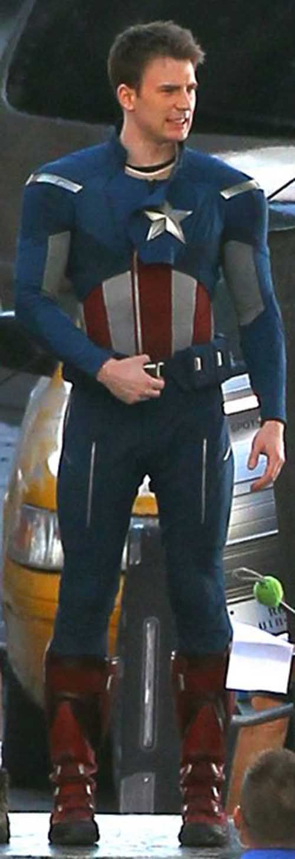 very sexy Capt. America Chris Evans