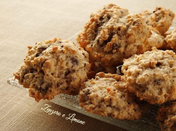 biscotti cocco e cioccolato
