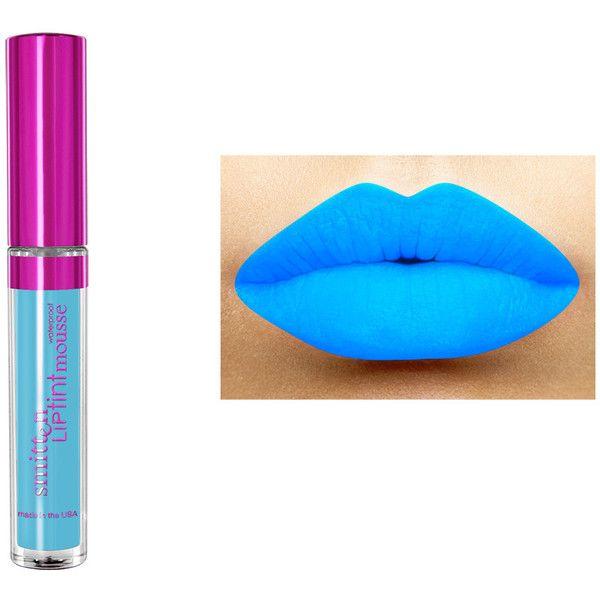 LA-Splash Cosmetics Smitten LipTint Mousse (Waterproof) ($14) ❤ liked on Polyvore featuring beauty products