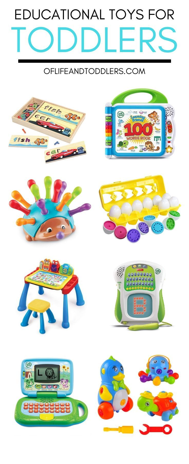 These Toys Are Incredibly Fun And Will Help To Stimulate Your Toddler S Brain Development Educational Toys For Toddlers Educational Toys Best Educational Toys
