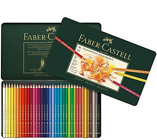 Faber-Castell Polychromos 36-Piece Colored Pencil Set with Tin