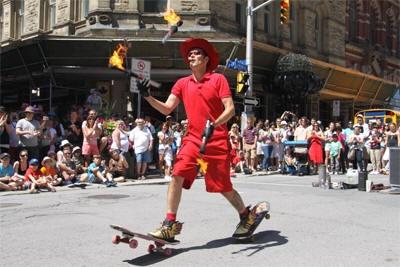 Busker Festival- Sparks Street Mall aug 2-6