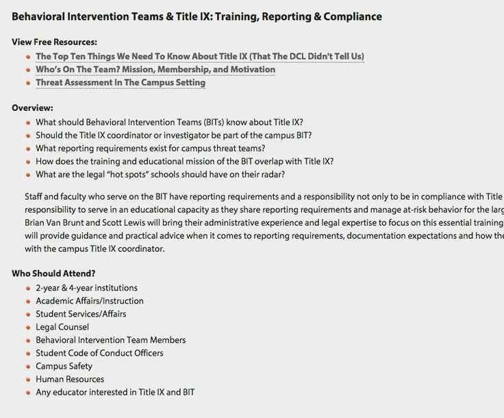 17 best Title IX images on Pinterest Student-centered resources - sample threat assessment