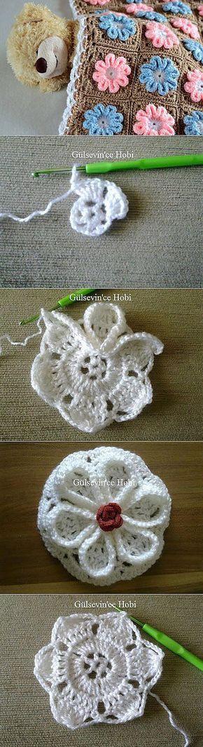 "http://postila.ru/post/7709112 [   ""Motive for plaid idea . Crochet Afghan with flowers."",   ""Flower motif for granny squares or quilted afghans"",   ""Granny square flower baby blanket This is SO pretty"",   ""Flor al crochet"",   ""Visit the post for more."",   ""Az indíték a kockás, az ötlet ."" ] #<br/> # #Crochet #Flower #Squares,<br/> # #Flower #Motif,<br/> # #Crochet #Flowers,<br/> # #Crochet #Stitches #Patterns,<br/> # #Stitch #Patterns,<br/> # #Crochet #Patterns,<br/> # #Crochet…"