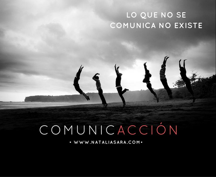 Lo que no se comunica no existe. Hay que comunicar para logra la acción. ComunicAcción :) #comunicacióneficaz #comunicaciónefectiva #comunicación #comunicacióncorporativa #dircom #RRPP #comunicaciónexterna #comunicacióninterna #comunicacióndigital