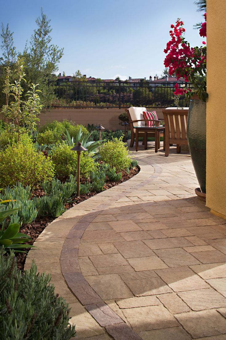 37 best images about patio pavers in san diego orange for Backyard landscaping ideas san diego