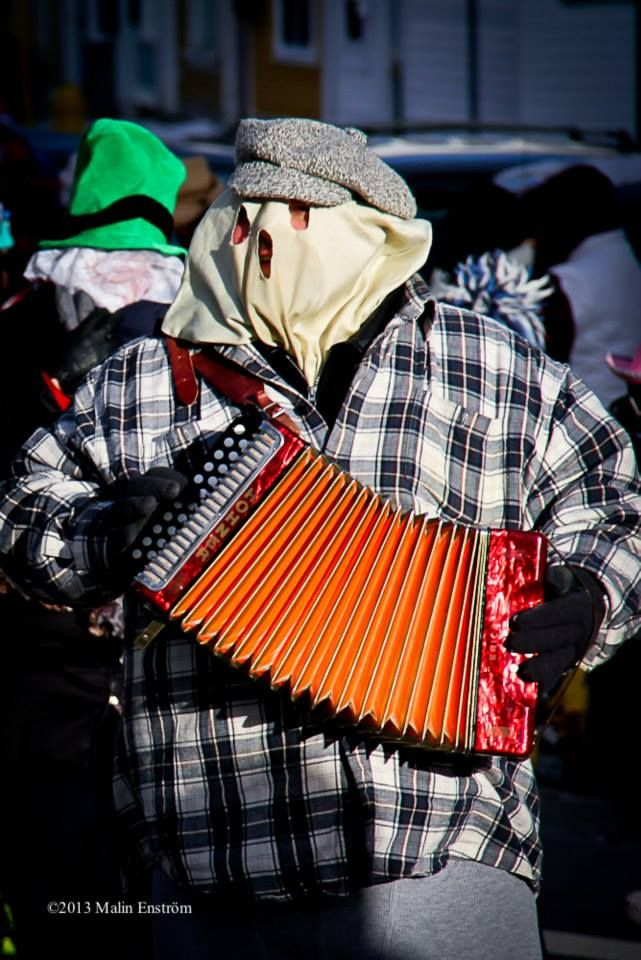 Dec 2013 Mummers Parade in St. Johns, Newfoundland. Photo by Malin Enstrom Photography