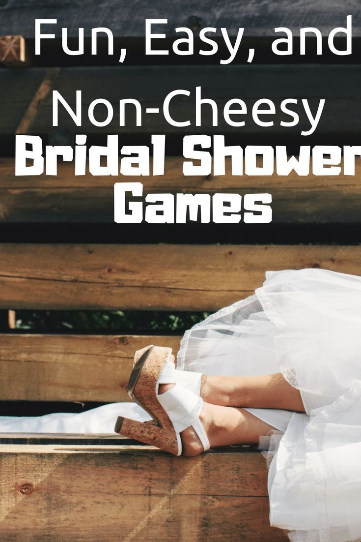 Looking for bridal shower games for an