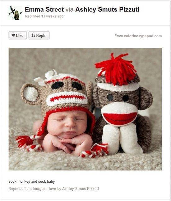 Sock Baby and Sock Monkey