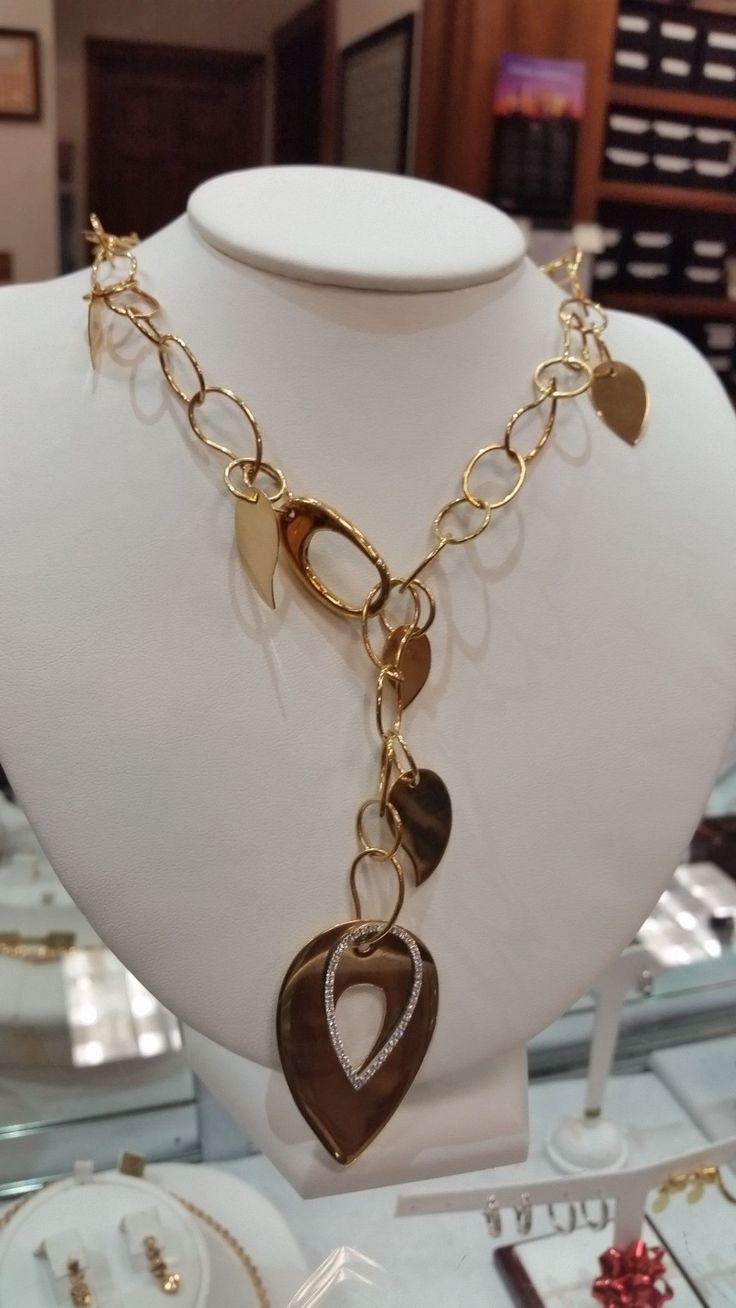 Sufferers wear copper jewelry in the hopes of easing symptoms - Mattioli 18kt Necklace Vertigo Collection Store Special