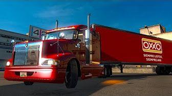 American Dream #4 International Lonestar! Viaje de noche | American Truck Simulator - YouTube