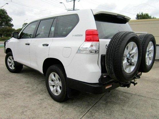 2012 Toyota Landcruiser Prado GX Auto 4x4-$41,990 KLMS 74000 Bris
