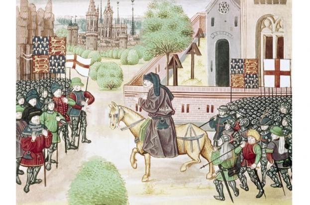 froissart reporter of the middle ages The french priest, poet, and itinerate reporter jean froissart (c  tell him all they  knew no news correspondent ever equaled this medieval information magnet.