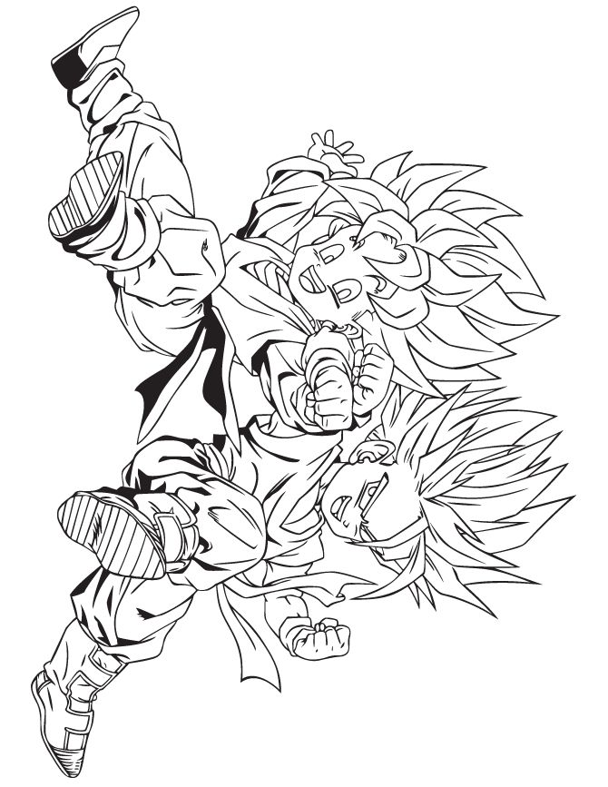 free printable coloring pages kids coloring pages free coloring coloring books dragon ball