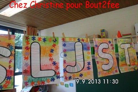 Les traits n'ont pas de frontière!! En Belgique aussi , on travaille sur les traits . Christine m'a fait parvenir 2 travaux réalisés avec ses élèves de 4/5 ans correspondant aux 2è et 3è années de maternelle là-bas. Un grand bonjour à la Belgique !!!...