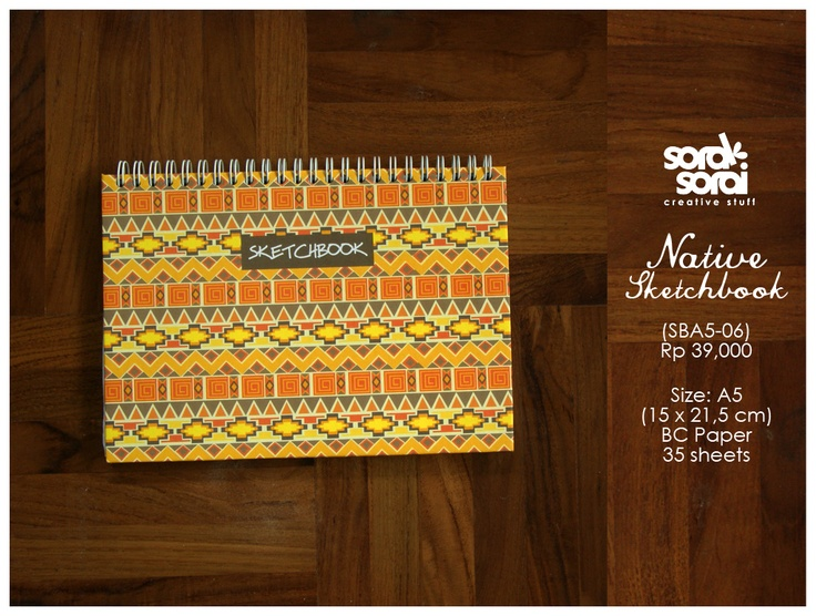 Native sketchbook by #soraksorai  Designed by kendinanti :)
