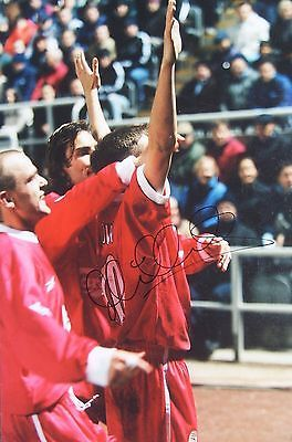 Michael owen #signed #photo (liverpool, man utd, newcastle, real madrid, #england,  View more on the LINK: http://www.zeppy.io/product/gb/2/112208819455/