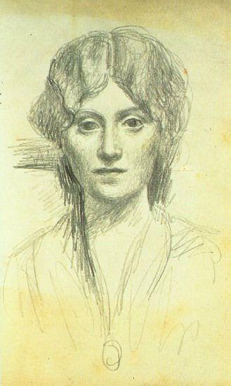 Pablo Picasso. Retrato de Olga. 1919