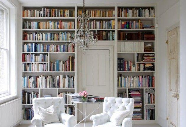 mi sueño!.. tener una biblioteca en casa.. <3 30 Marvelous Bookshelf Walls