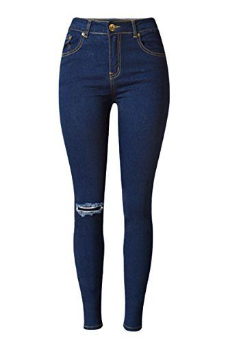 New Trending Denim: Lingswallow Womens High Waisted Jean Destroyed Ripped Holes Skinny Jeans Blue. Lingswallow Women's High Waisted Jean Destroyed Ripped Holes Skinny Jeans Blue  Special Offer: $30.99  133 Reviews Size information:34:Length:38.19 inch/97cm.Waist:22.83 inch/58cm.Hip:31.50 inch/80cm. === 36:Length:38.19 inch/97cm.Waist:24.41 inch/62cm.Hip:33.86 inch/86cm. ===...
