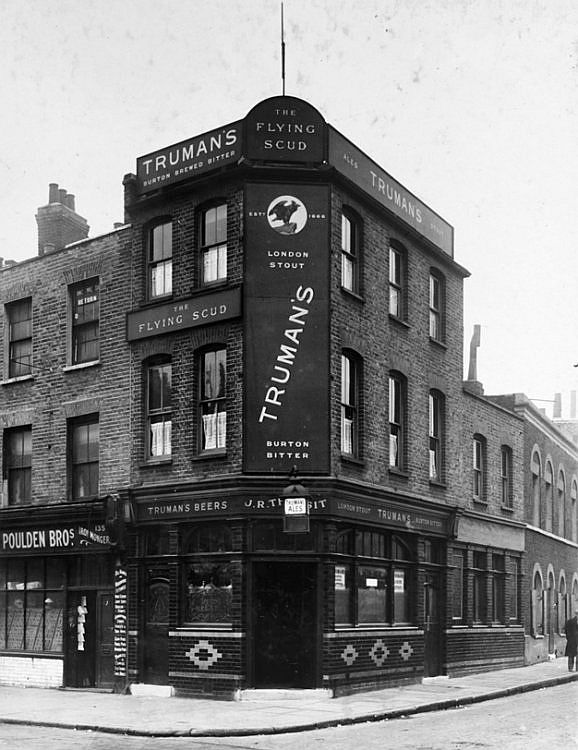 Flying Scud, 137 Hackney Road - c 1945
