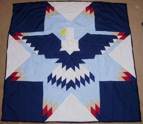 Lonestar Eagle Quilts with Pattern - QUILTING