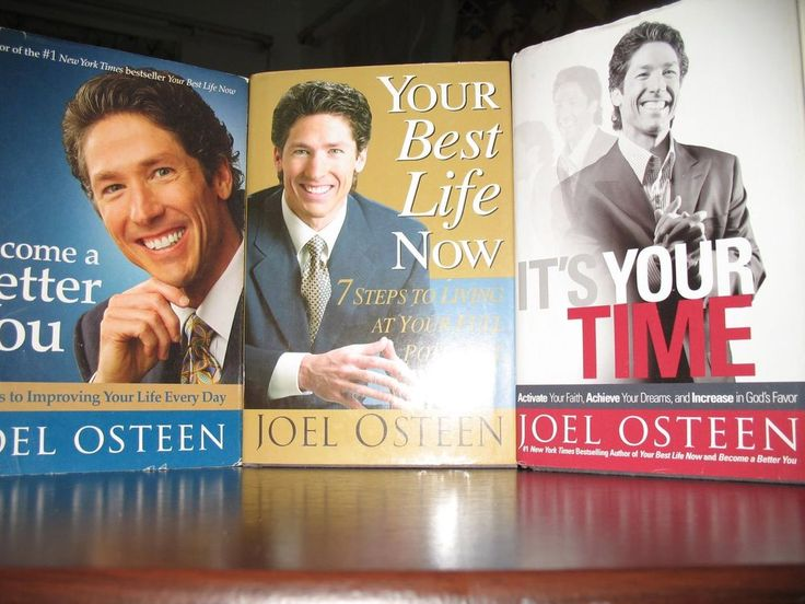 2 Days Left for the Auction to be over!!!  Joel Osteen (Lot of 3) -Become a Better You, Your Best Life Now, It's Your Time