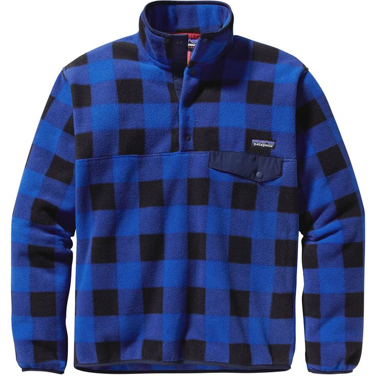 For the #plaid lovers: Lightweight Synchilla Snap-T (Men's ...