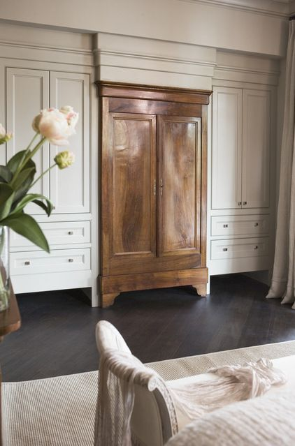 gorgeous!  transitional bedroom by Linda McDougald Design | Postcard from Paris Home