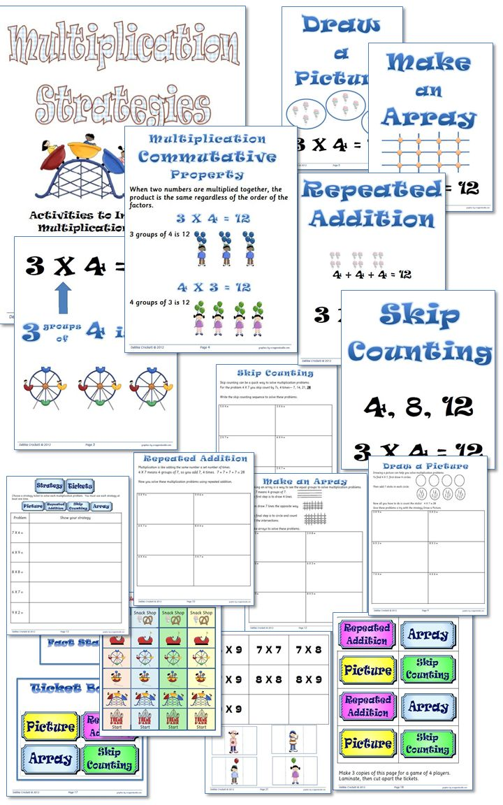 Best 25 multiplication strategies ideas on pinterest teaching great way to introduce and help reinforce multiplication strategies gamestrikefo Gallery