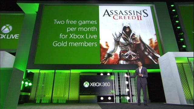 Assassin's Creed 2 Available For Free For Xbox 360 Gold Members July 16 http://www.ubergizmo.com/2013/07/assassins-creed-2-available-for-free-for-xbox-360-gold-members-july-16/